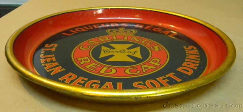 cabaret liqueur regal  st jean  carling red cap Jrcarl11