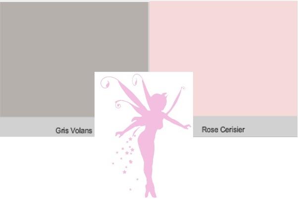 Idee Peinture Chambre Fille Rose Et Gris