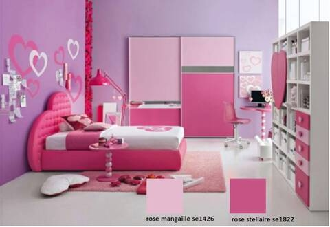 Idee Peinture Seigneurie Chambre Bebe Fille