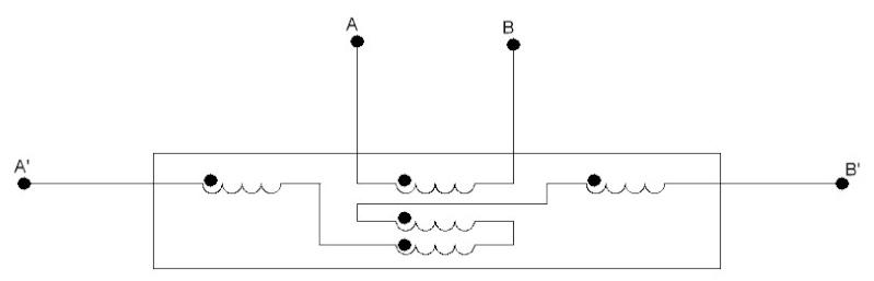 Как мотается бифилярная катушка и принцип её работы Deldmo11