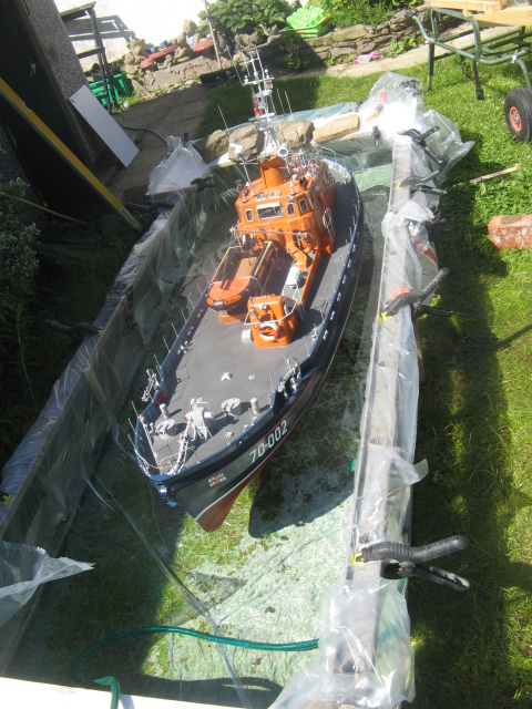 Clyde class lifeboat/Loch Ness sail 00210