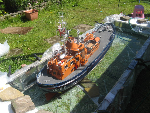 Clyde class lifeboat/Loch Ness sail 00410