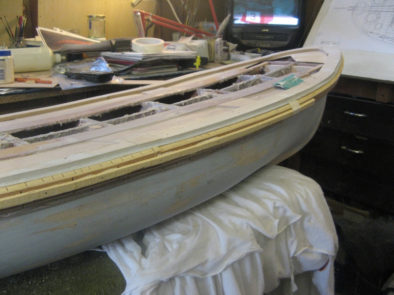 A lifeboat build blog...........How a kit is made! C_210