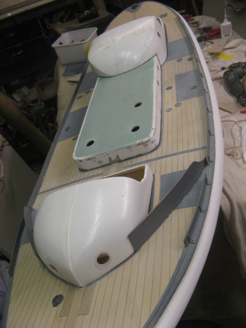 A lifeboat build blog...........How a kit is made! - Page 5 Cuttin12