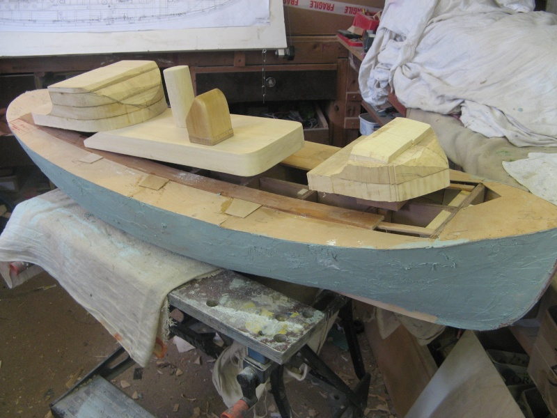 A lifeboat build blog...........How a kit is made! F_110