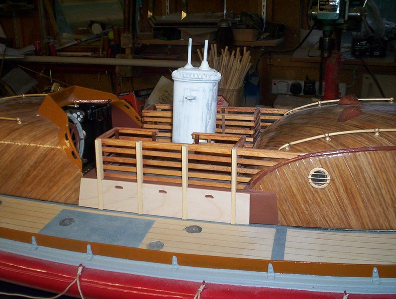 A lifeboat build blog...........How a kit is made! - Page 8 Glasin15