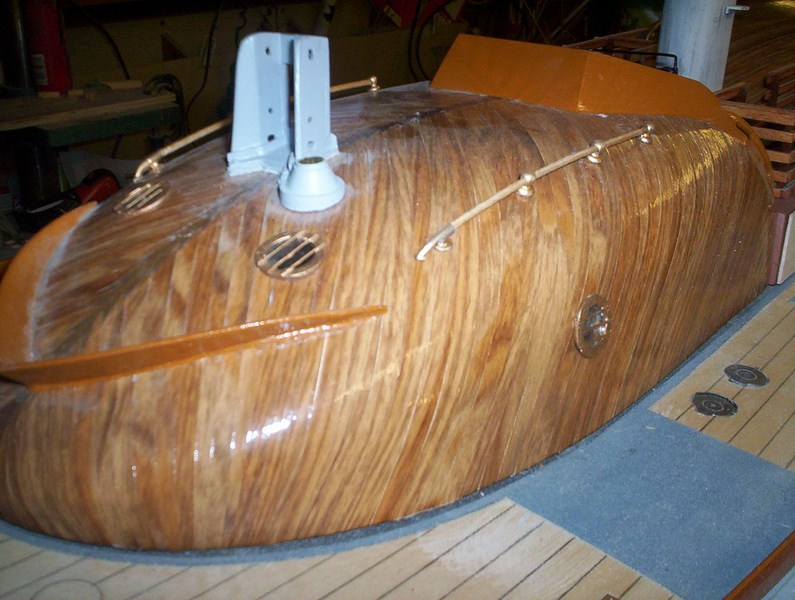 A lifeboat build blog...........How a kit is made! - Page 8 Glasin16
