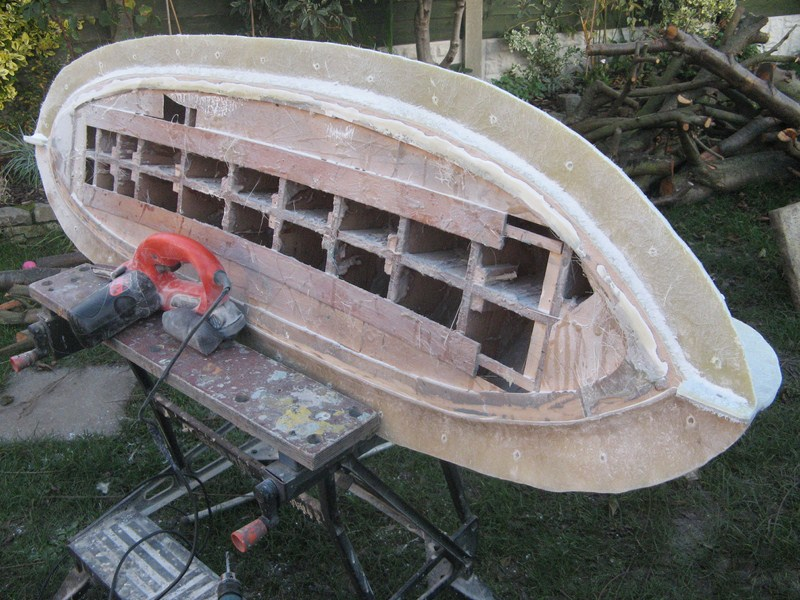 A lifeboat build blog...........How a kit is made! H_13_c10