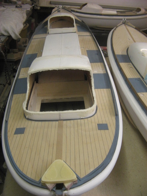 A lifeboat build blog...........How a kit is made! - Page 4 Kickbo13