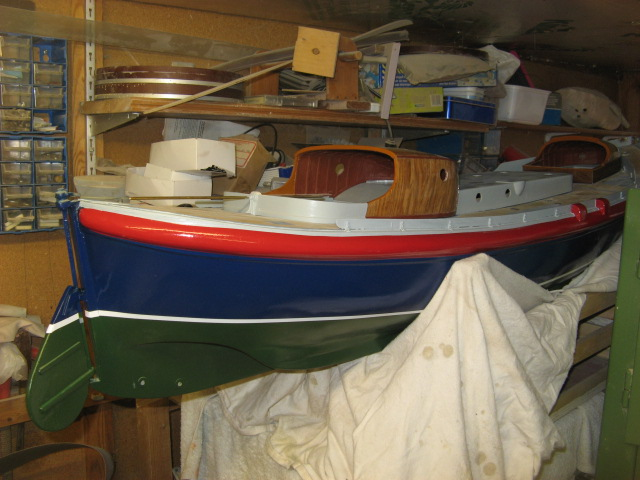A lifeboat build blog...........How a kit is made! - Page 8 Lookin15