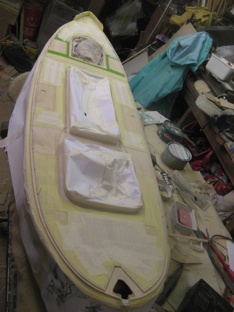 A lifeboat build blog...........How a kit is made! - Page 4 Maskin13