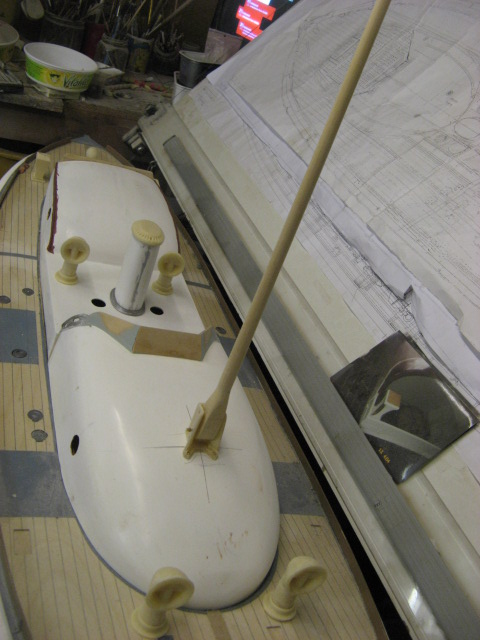 A lifeboat build blog...........How a kit is made! - Page 6 Masts_15