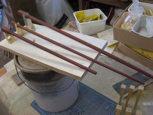 A lifeboat build blog...........How a kit is made! - Page 6 Masts_17
