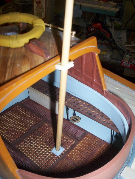 A lifeboat build blog...........How a kit is made! - Page 9 Mizzen11