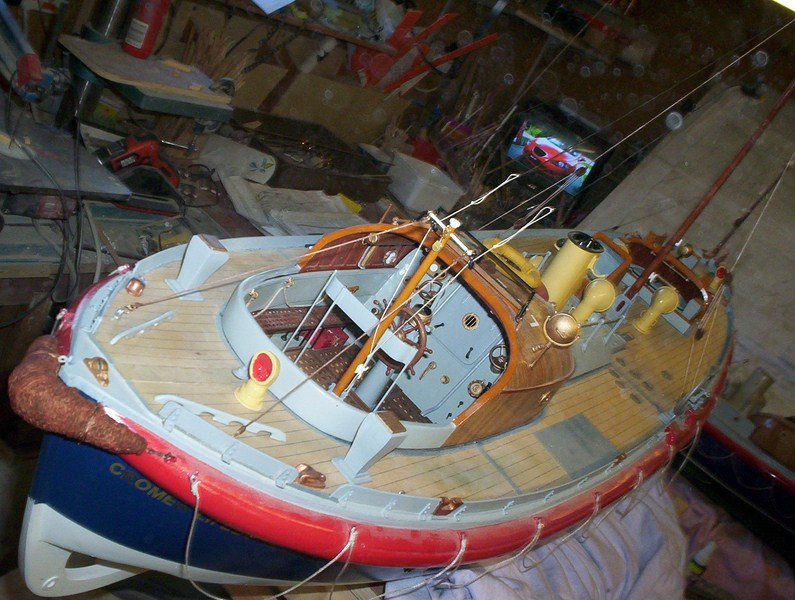 A lifeboat build blog...........How a kit is made! - Page 9 Nearly13