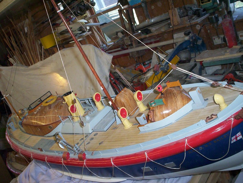 A lifeboat build blog...........How a kit is made! - Page 9 Nearly14