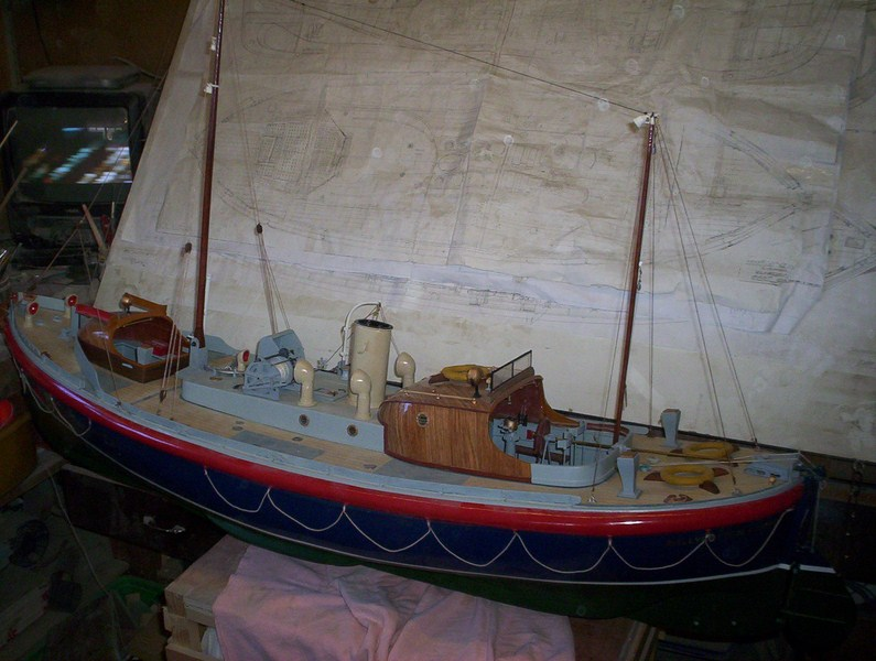 A lifeboat build blog...........How a kit is made! - Page 9 Nearly17