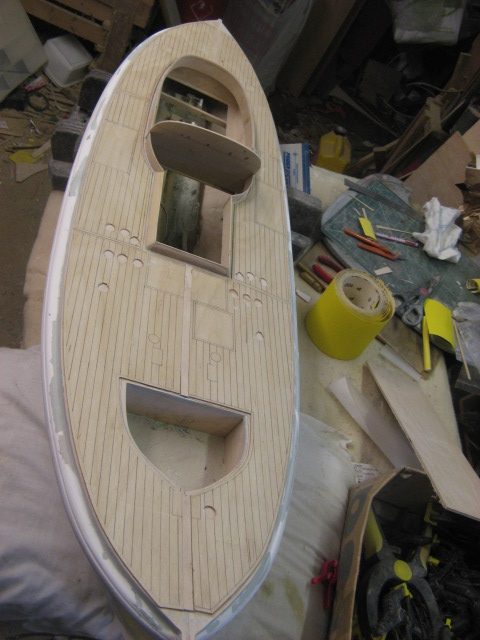 A lifeboat build blog...........How a kit is made! - Page 4 Overla10