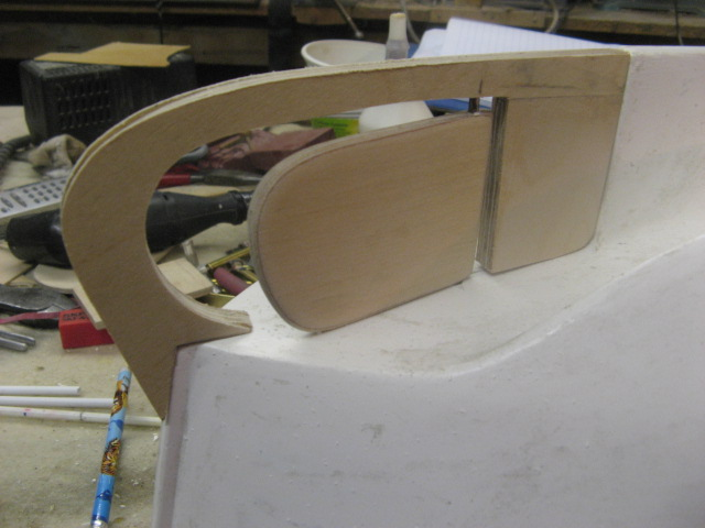 A lifeboat build blog...........How a kit is made! - Page 2 Rudder16