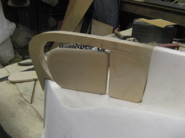 A lifeboat build blog...........How a kit is made! - Page 2 Rudder17