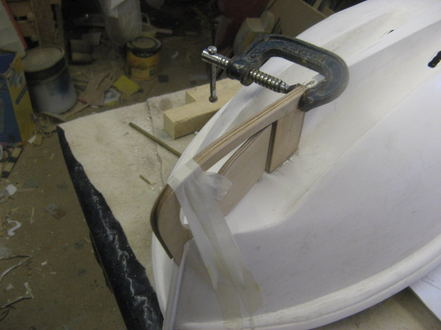 A lifeboat build blog...........How a kit is made! - Page 2 Rudder28