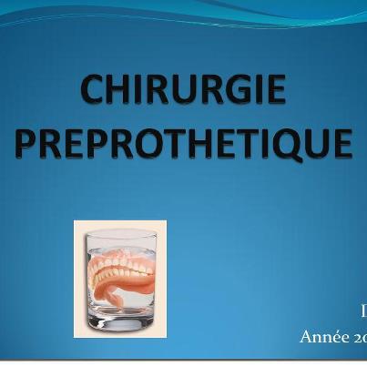Chirurgie pré-prothétique 59952210