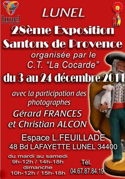 LUNEL  28eme EXPOSITION DES SANTONS DE PROVENCE Santon11