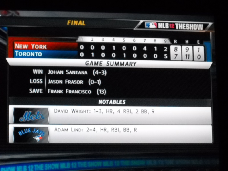 The Toronto Blue Jays Franchise --- MLB 12: The Show Dscn3314