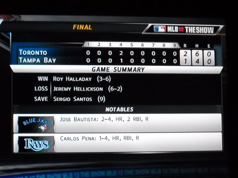 The Toronto Blue Jays Franchise --- MLB 12: The Show Dscn3315