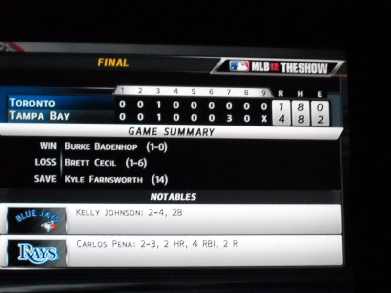The Toronto Blue Jays Franchise --- MLB 12: The Show Dscn3317