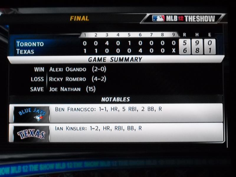 The Toronto Blue Jays Franchise --- MLB 12: The Show Dscn3318