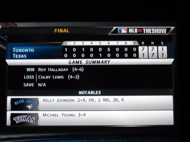 The Toronto Blue Jays Franchise --- MLB 12: The Show Dscn3320