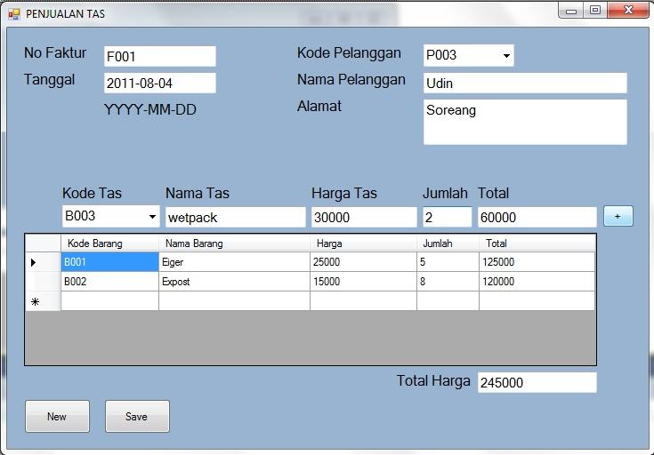 Aplikasi Penjualan Tas VB2010 dan database SQLServer 2005 Penjua10