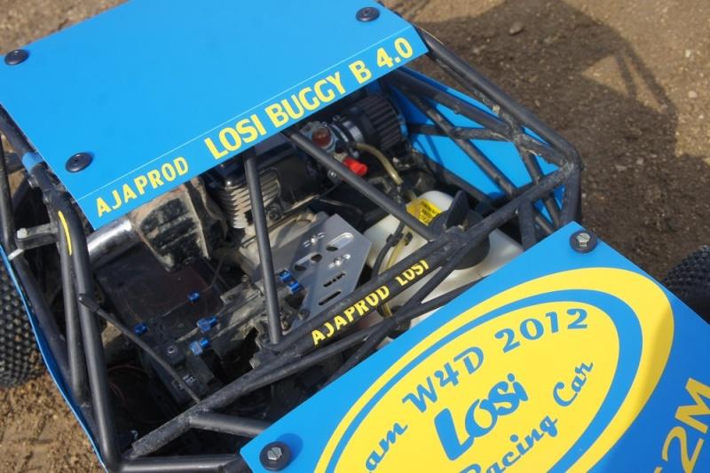losi buggy 1/5 roll cage en test au marmouset  Dsc04210