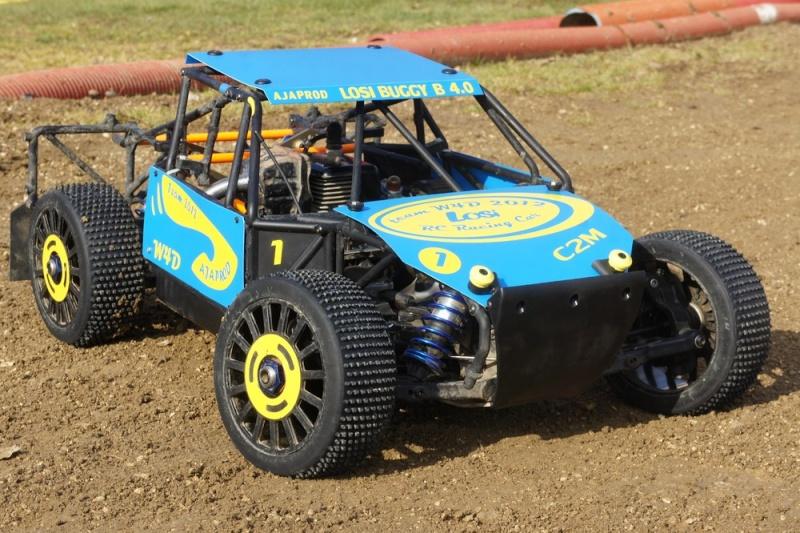losi buggy 1/5 roll cage en test au marmouset  Dsc04215