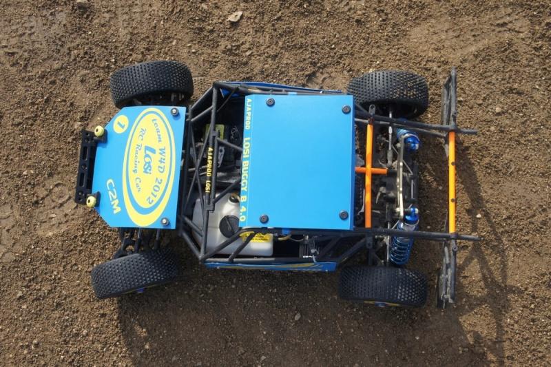 losi buggy 1/5 roll cage en test au marmouset  Dsc04216