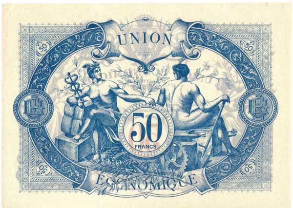 1,5 et 10 Francs Union économique oranaise et algérienne  Algérie  7732r10