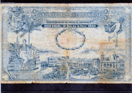 1,5 et 10 Francs Union économique oranaise et algérienne  Algérie  Kgrhqf10