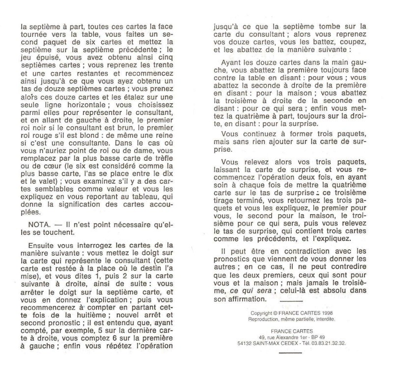 Le Petit Cartomancien (1890) - Page 2 Notice11