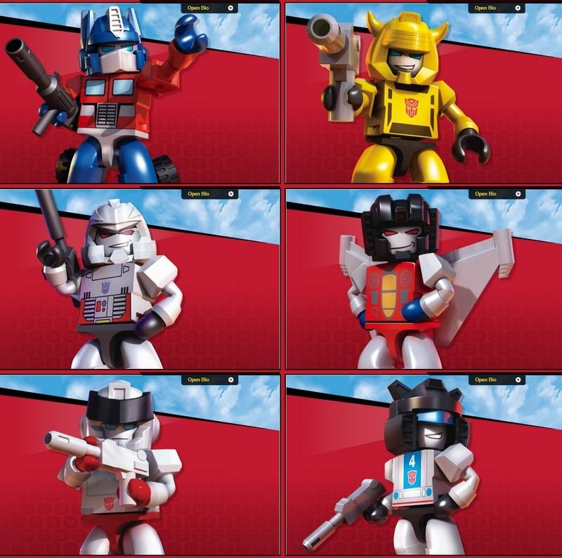 Jouets Transformers ― Robot Heroes, Bot Shots, Hero Mashers, Kre-O, ConstructBots, Q-Transformers & BotBots Sans_t11