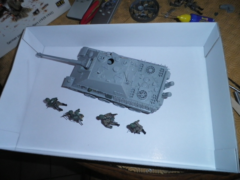 peinture - Jagdpanther, 1/35 Peinture 3 tons P5280017