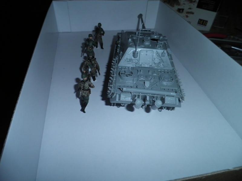 peinture - Jagdpanther, 1/35 Peinture 3 tons P5280018