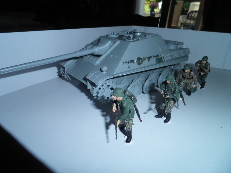 peinture - Jagdpanther, 1/35 Peinture 3 tons P5280019