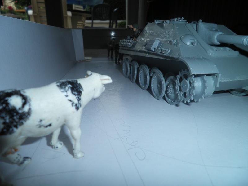 peinture - Jagdpanther, 1/35 Peinture 3 tons P5300019