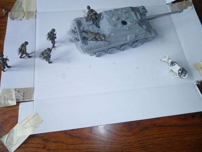 peinture - Jagdpanther, 1/35 Peinture 3 tons P5300020