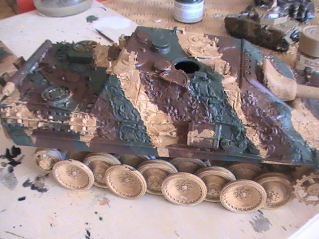 peinture - Jagdpanther, 1/35 Peinture 3 tons Pic_2118