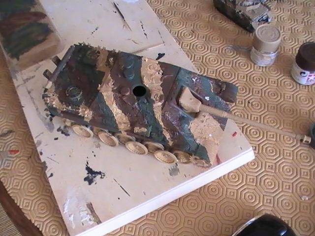 peinture - Jagdpanther, 1/35 Peinture 3 tons Pic_2119