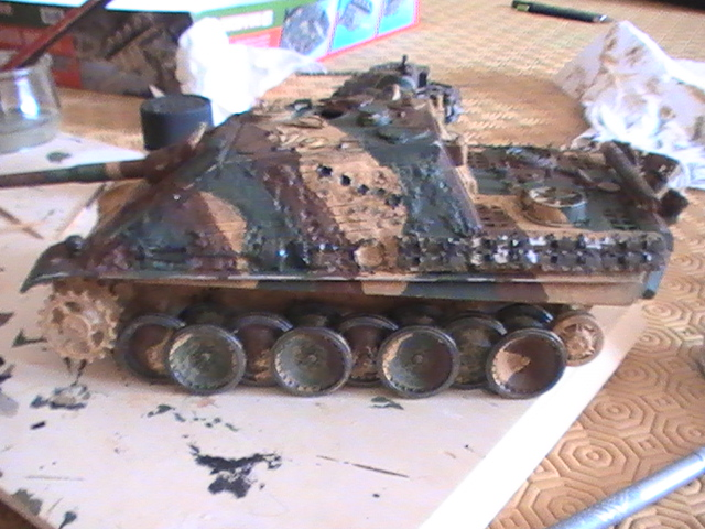 peinture - Jagdpanther, 1/35 Peinture 3 tons Pic_2124