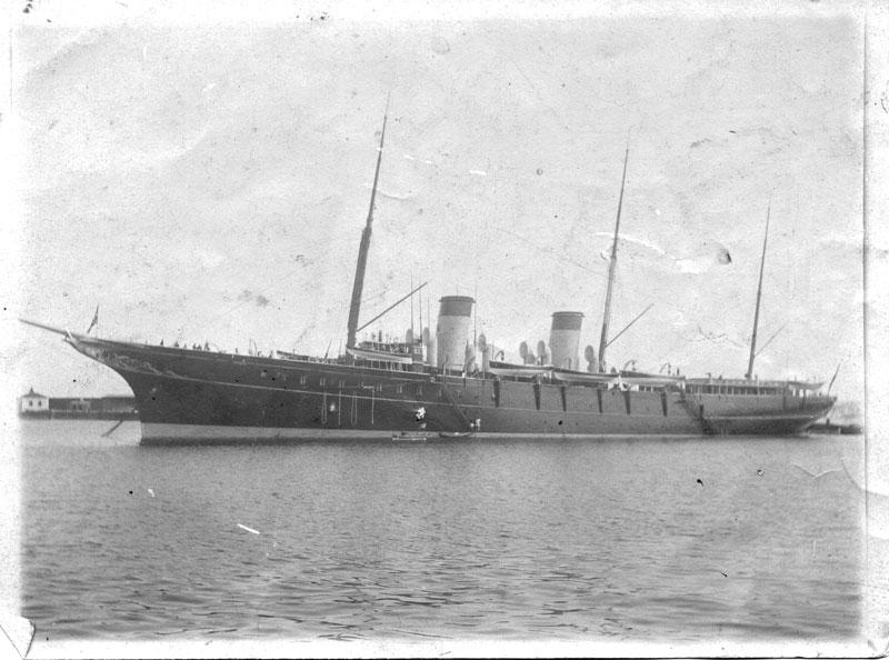 Identification d'un navire Bateau34