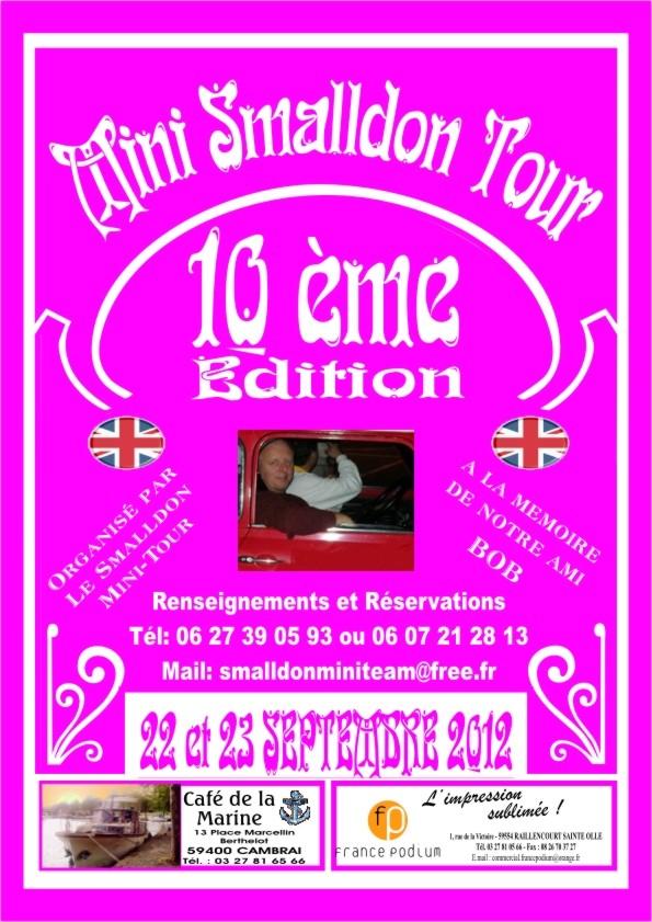 10ème MINI SMALLDON TOUR 22 et 23 Septembre 2012 Affich13